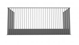 B50 Vertical Bar Balustrade - BA Systems