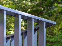 The classic flat bar balustrade refined for today's construction methods