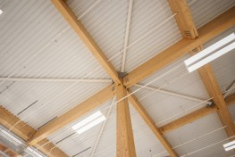 A recent innovation has been to develop a long span cassette for the retail market, incorporating one way breather membrane, insulation and including both internal and external treatments factory installed to assist speed of installation, B & K Structures can ...