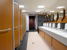 Contemporary, characteristic and Part M compliant, the ZED washroom system cleverly merges fresh design features with everyday practicality.  Sporting an interlocking, angular system with engineered aluminium sections, ZED washroom cubicles allow for specifica...