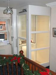The Optimum 500 is the ultimate space saving platform lift for your home. It has been specifically designed for the home market with a very small space requirement to optimise the space in your building!  It comes complete with it own self supporting enclosure...