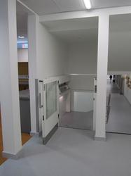 Enclosed Vertical Platform Lift - Optimum 100 | Ability Lifts - Ability Lifts Ltd