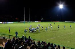 Rugby pitch lighting image