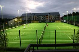 Tennis court lighting image