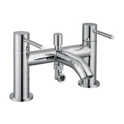 ISO Chrome Bath Mixer with Handshower (TBTS-34-3204) image