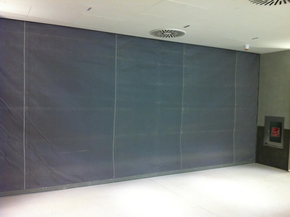 Flameshield Fire Curtain By A1 Shutters Ltd