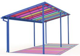 Brighten up your canopy with coloured polycarbonate now available:  Below are the wide range of colours we have available to make your ideal coloured canopies.  We can supply Coloured Polycarbonate Roofing System for fitting to your own structure or even sheet...