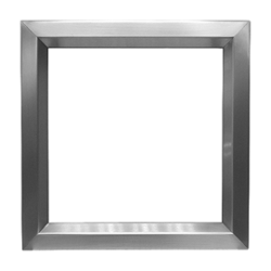 The standard LoPro is galvanised mild steel, grey primed ready for powder coating.The LoPro is also available in stainless steel Grade 304 #4 satin finish in the sizes below from stock, and in Grade 316 #4 satin finish to special order.  For 44-46mm Metal or...