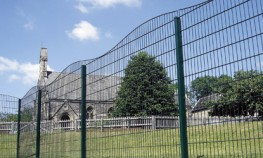 Zaun's Gemini decorative fencing system is possibly the most attractive mesh fencing system on the market.Available in four options, wave, convex, concave and surf, each of these decorative fencing styles share the curvaceous styling associated with the Ge...