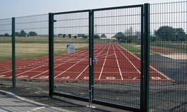 The Duo Sports double wire sports fencing system has been designed and evolved from the Duo6 and Duo8 perimeter fencing system.  Ideal for both light usage courts or heavy use with MUGAs (multi use games areas) the Duo Sports double wire sports fencing system ...