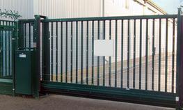 AUTOMATIC CANTILEVER SLIDING GATES image