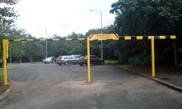 HEIGHT RESTRICTOR BARRIERS image