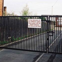 MANUAL VEHICLE GATES image