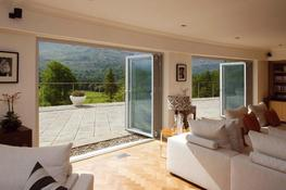 Folding sliding doors image