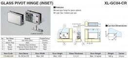 XL-GC - Glass Showcase Hardware - Sugatsune Kogyo UK Ltd