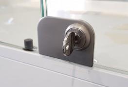 1310GLW - Glass Door Lock for Double Doors - Sugatsune Kogyo UK Ltd