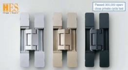 HES3D-E190 - 3-Way Adjustable Concealed Hinge image
