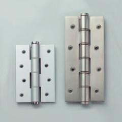 The SA spring hinge is spring loaded for self-closing (the spring tension is adjustable).