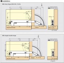 CSD-10-TV - Compact Soft-Down Stay - Sugatsune Kogyo UK Ltd