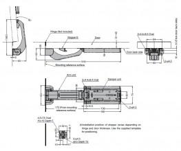 LAD - Lift Assist Damper for Counter Flaps - Sugatsune Kogyo UK Ltd