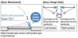 LDD-S - Lapcon Door Damper (Surface Mount Type) - Sugatsune Kogyo UK Ltd