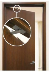 A soft-closing mechanism to recess into free swinging interior doors using Lapcon technology - passed over 100,000 open/close private cycle tests.