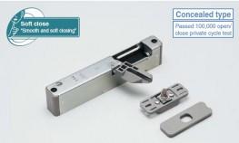 LDD-V Lapcon Door Damper (Recessed Type) - Sugatsune Kogyo UK Ltd