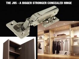 J95 - Heavy Duty Concealed Hinge - Sugatsune Kogyo UK Ltd