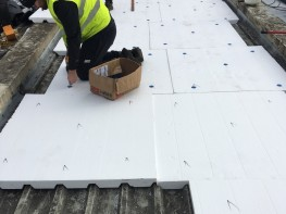 Stylite Profiled Roofing Insulation - Styrene Packaging & Insulation Ltd