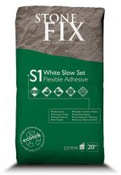StoneFix S1 White Slow Set Flexible Adhesive image