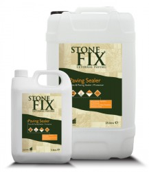 StoneFix Paving Sealer is a high performance ready to use eco-friendly sealer that helps protect against staining. Strongly repels water, oil and grease while still allowing the surface to breathe. Enhances the present colour and greatly extends the lifespan o...