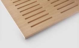 Woodfit slotted acoustic panels image