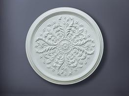 CC1 Small Leaf Ceiling Rose - Stevensons of Norwich Ltd