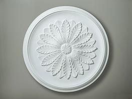 CC3 French Leaf Ceiling Rose image