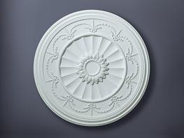 Robert Adam swag and drop enriched ceiling rose moulding  Diameter:889mm
