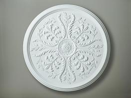 CC6 Large Leaf Ceiling Rose image