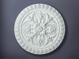 Beautiful ornate Victorian ceiling rose  Diameter:749mm
