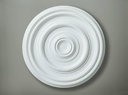 CC25 Mid Plain Ceiling Rose image