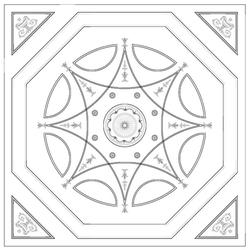 DC06Robert Adam Grosvenor Plaster Ceiling image