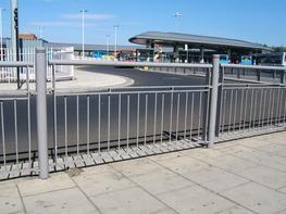Pedestrian Guard Rail image