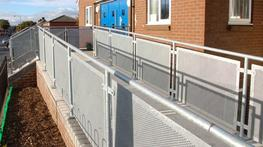 We offer bespoke balustrade options to meet your design requirements and we are pleased to work with specifiers in the development of contemporary designs.  Balustrade can incorporate a range of attractive infill options including:  Toughened Glass (Clear, Tin...