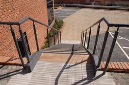 Staircases where the design is an important consideration, usually as part of a reception area or to fit in with an overall design concept.  We can supply both straight flight staircases and spiral staircase with balustrade in either mild steel or stainless st...