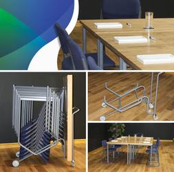 Portable Office Furniture - Stage Systems