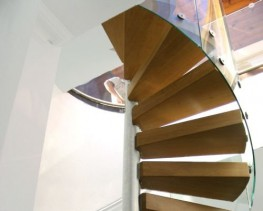 Spiral Cantilevered Stairs image