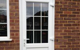 UPVC DOORS   Open Out PVC Doors image