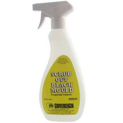 Scrub Out Black Mould is a fungicidal cleaner; containing a powerful blend of biocide and detergent to eradicate mould on internal surfaces.