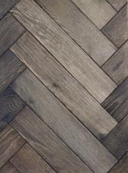 Oak Herringbone Stromboli Flooring image