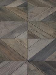 Oak Chevron Toroni Flooring image