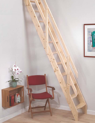 Dolle Amsterdam Wooden Space Saving Ladder Kit image