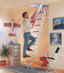 Dolle Alufix Concertina Loft Ladder image
